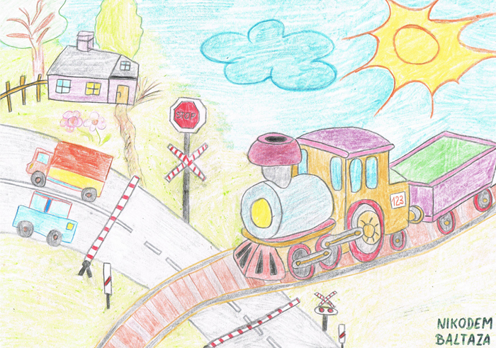 3rd Uic Ilcad Drawing Contest For Children On Level Crossing Safety