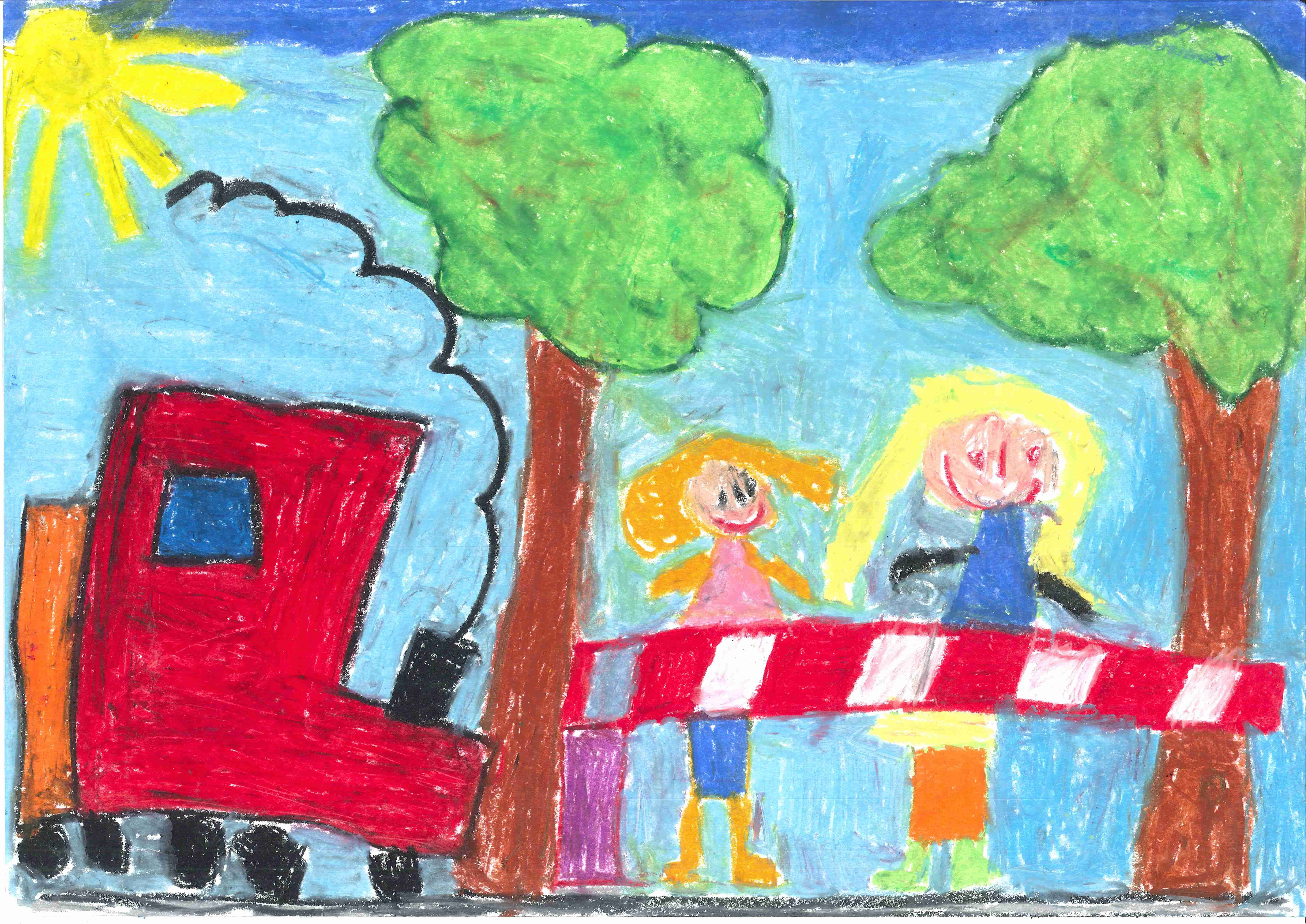2nd international drawing contest for children on safety at level